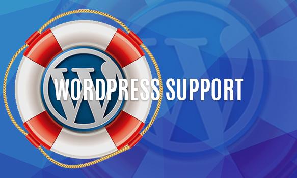 wordpress Τεχνική Υποστήριξη